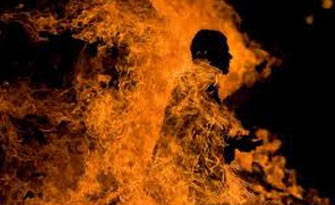 Man burnt to death by in-laws in Surendranagar